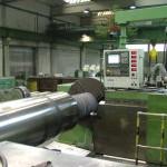 CNC Lathe: Rolls 65t, 400 kW, Sinumerik 840C